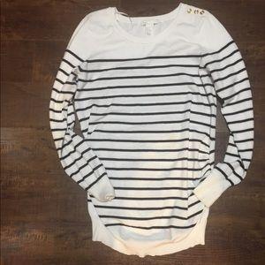 H&M mama (Maternity) striped shirt